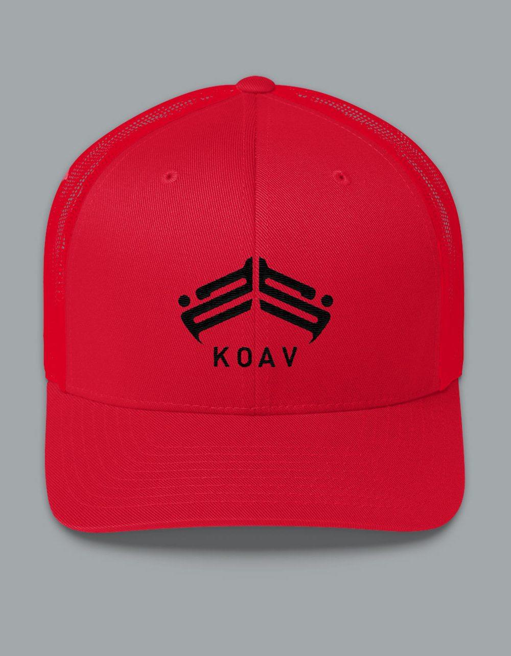 Trucker Snap Back Cap with our KOAV emblem