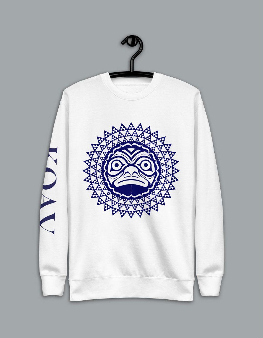Turtle Kuleana premium fleece pullover sweater by KOAV