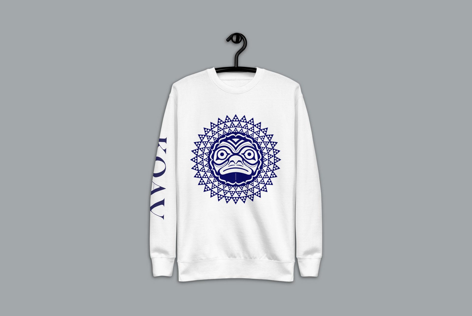 KOA Kuleana premium fleece pullover sweater by KOAV